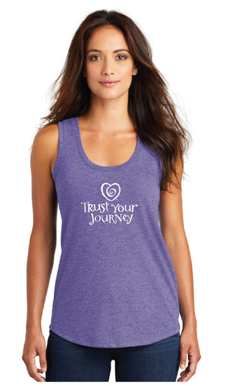 TYJ Tank-Purple - Trust Your Journey