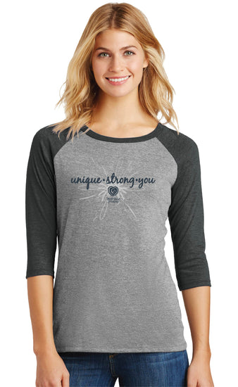 Unique-Strong-You Tee Black - Trust Your Journey