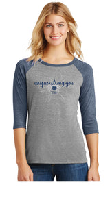 Unique-Strong-You Tee Navy - Trust Your Journey