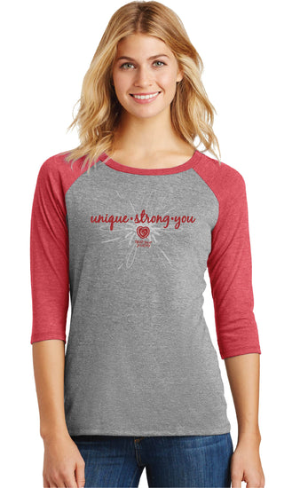 Unique-Strong-You Tee Red - Trust Your Journey