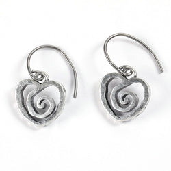 Heart Voice Earrings - Trust Your Journey