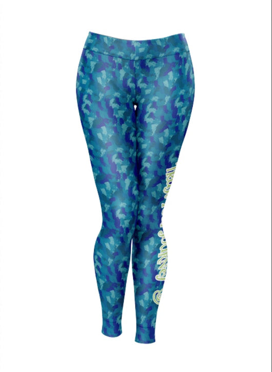 TYJ Multi Print Legging - Trust Your Journey
