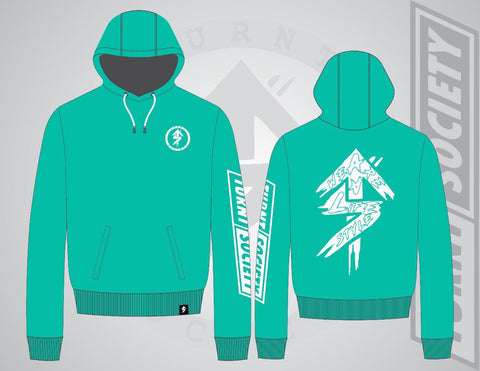 """WE ARE A LIFESTYLE"" MINT HOODIE"