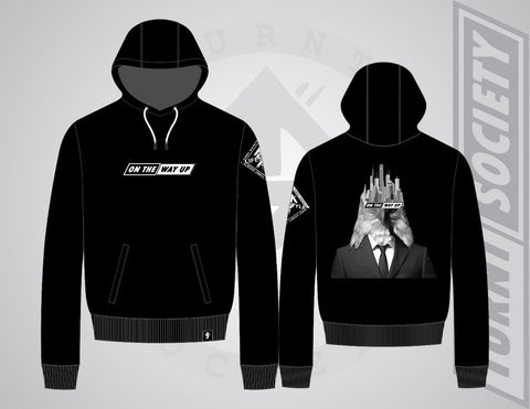 """ON THE WAY UP EAGLE"" BLACK HOODIE"