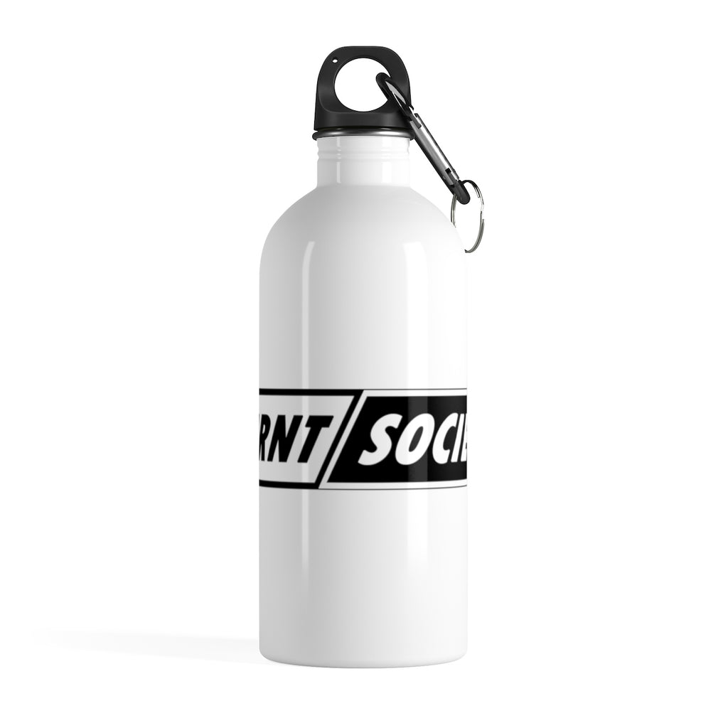 """TURNT SOCIETY"" Stainless Steel Water Flask"