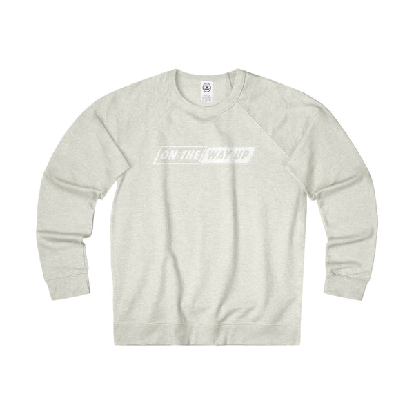 """ON THE WAY UP"" French Terry Crewneck"