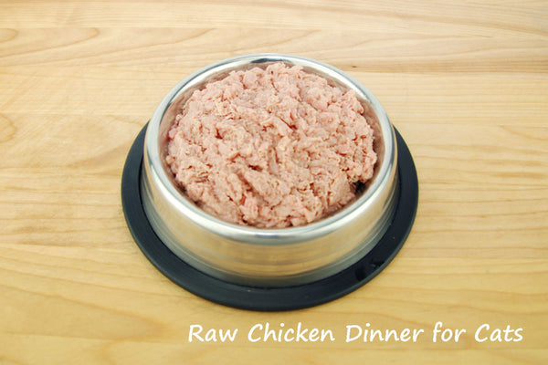 Raw Chicken Dinner for Cats 5LB