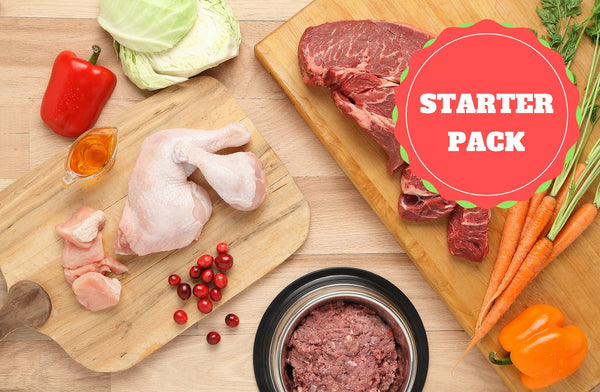 Dog Starter Pack - starting at $12 for 2lbs  (FREE SHIPPING + NO MINIMUM)