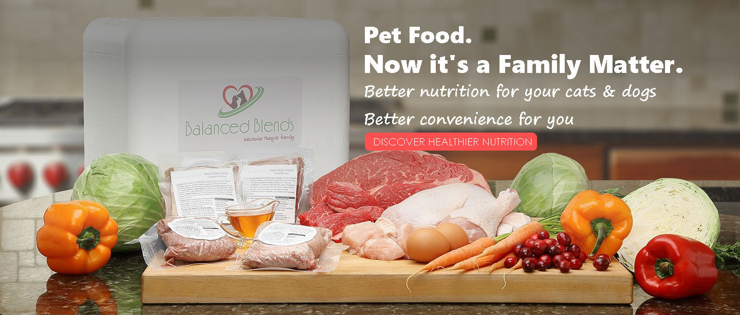 Raw Pet Food Delivery for Cats & Dogs