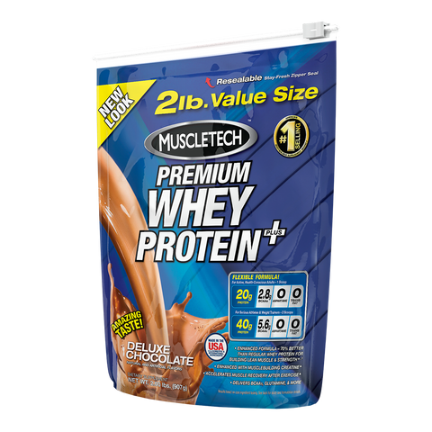 MuscleTech - Whey Protein + 907g