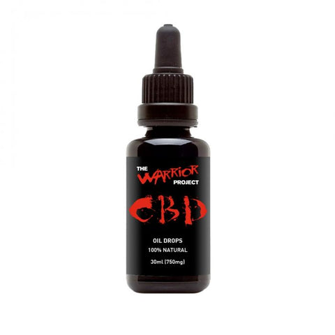 The Warrior Project - CBD Oil Drops