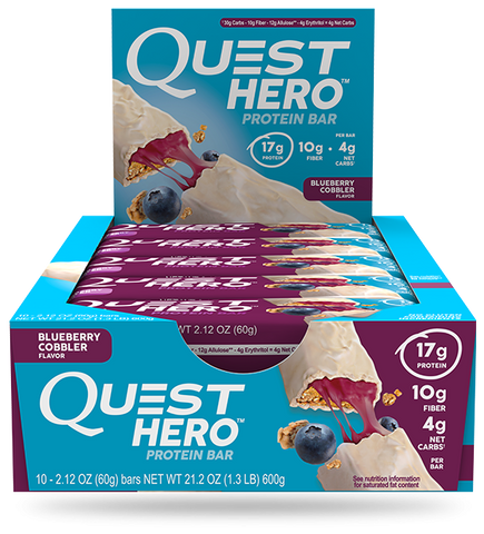 Quest Nutrition Hero - box