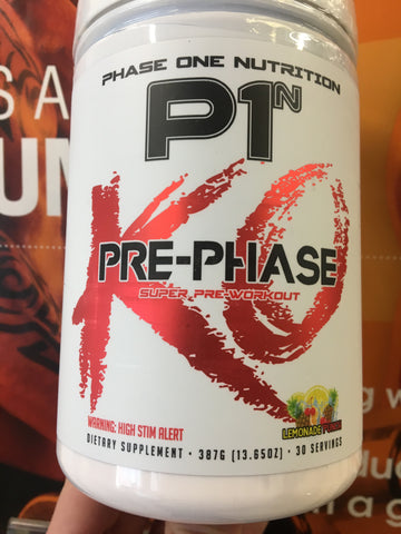 Phase One Nutrition - Pre Phase