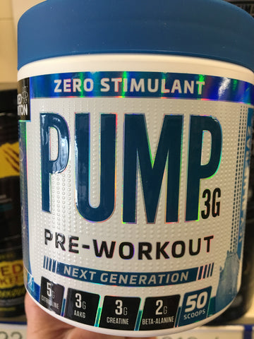 Applied Nutrition - Pump 3G Zero Stimulant