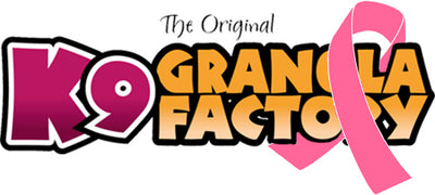K9 GRANOLA FACTORY AWARENESS COLLECTION - SAVE THE TATAS!