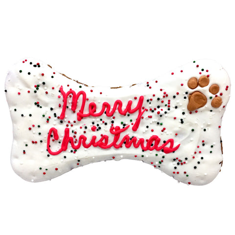Merry Christmas Dog Bone