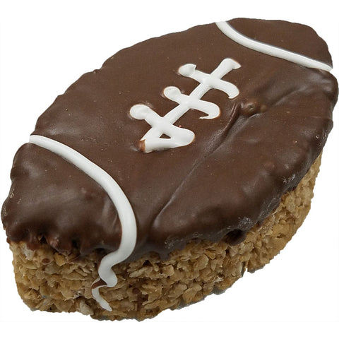 Football Granola Shaped Dog Treat