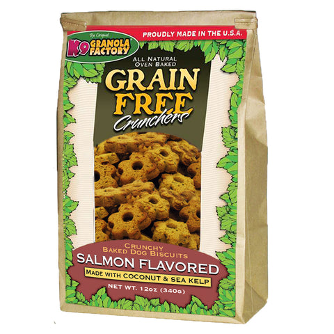 Grain Free Crunchers Atlantic Salmon with Coconut & Sea Kelp