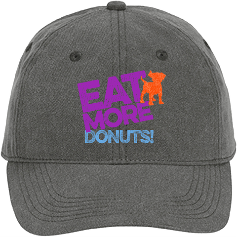 K9 Granola Factory Donut Shop Cap, Pepper