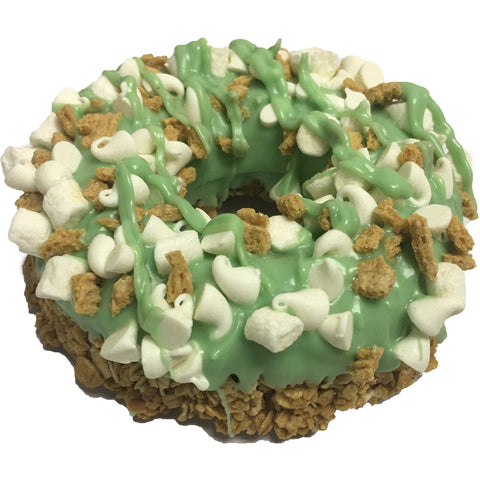 Gourmet Donut of the Month - Key Lime Pie Dog Treat