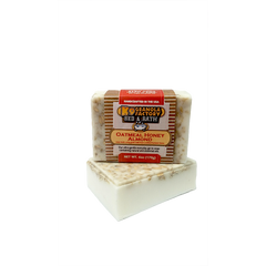 Bed & Bath Oatmeal Honey Almond Goats Milk Soap for Dogs 6oz