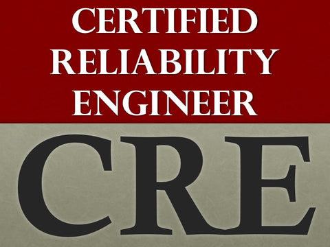 live instructor led option 1199 supreme package cre certified reliability engineer