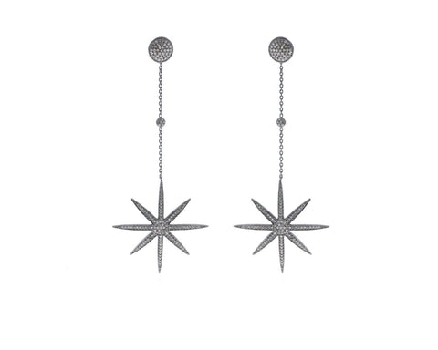Sunbrust Diamond EARRINGS