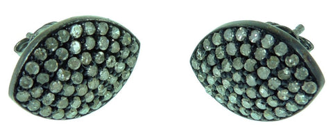 Oval Marqui Earrings Studs
