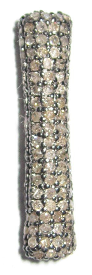 Diamond Long Clyndrical Shape Beads