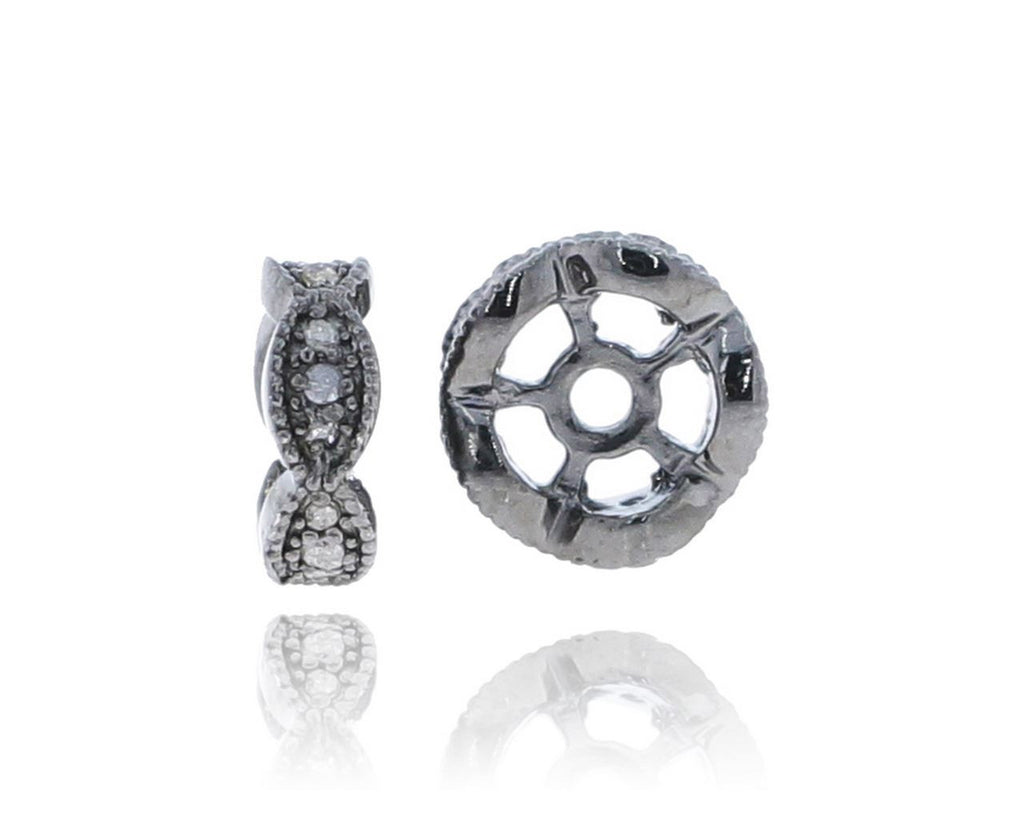 Diamond Pave Beads