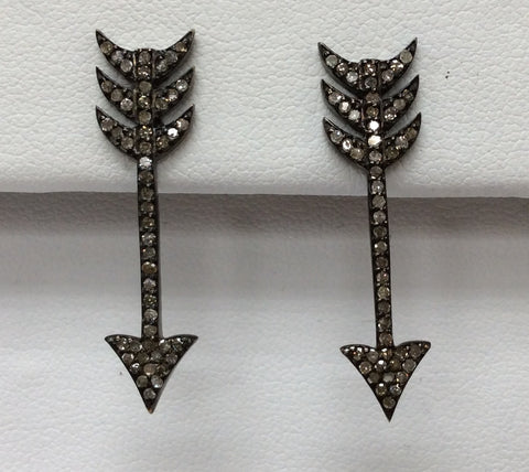 Arrow Head Diamond Earring
