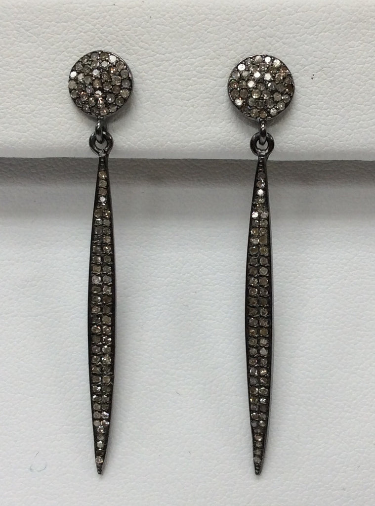 Spike Diamond Earring