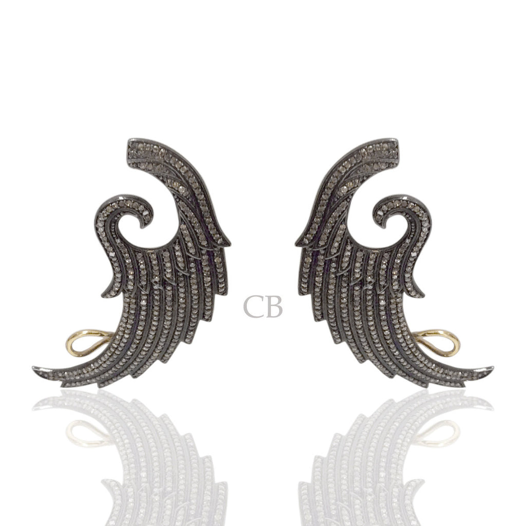 Diamond Designer Earring Cuff