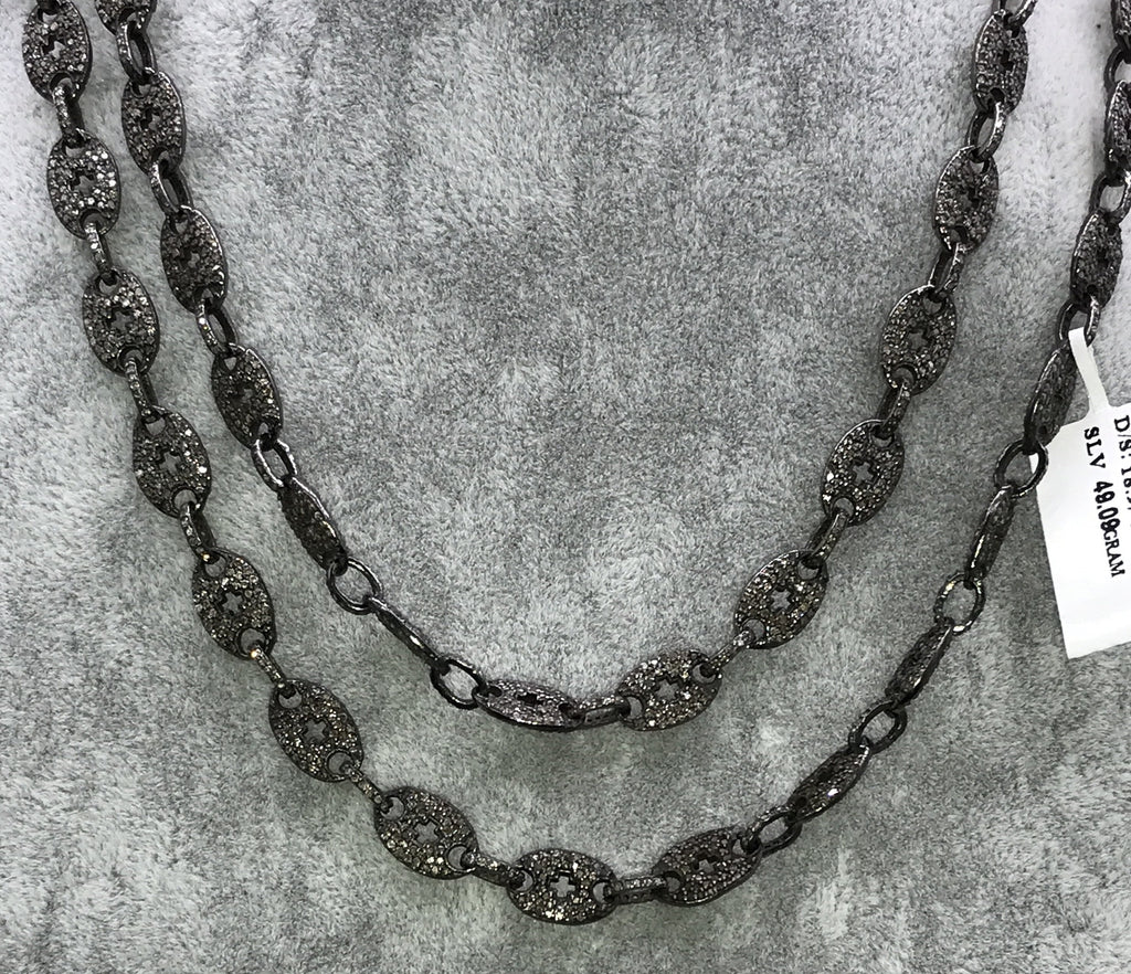 Diamond Link chain Necklace