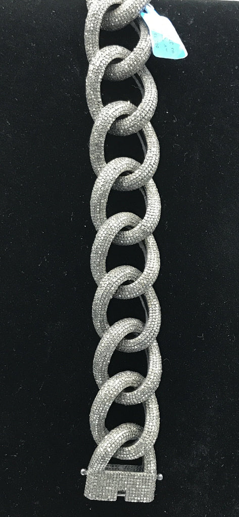 Link Chain Diamond Bracelet