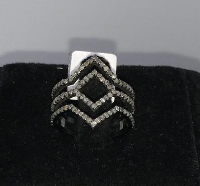 Rhombus Shape Diamond Ring