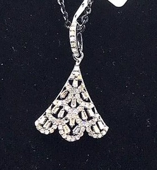 Fancy Shape Diamond Pendant
