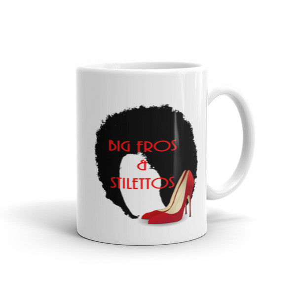 Big Fro & Stiletto Mug