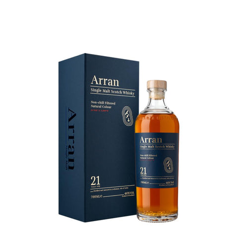 ARRAN 21 YEARS OLD 70CL 46% - Aberdeen Whisky Shop