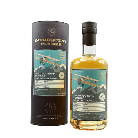 MACDUFF 11 YEARS OLD INFREQUENT FLYERS 70CL 54.6% - Aberdeen Whisky Shop
