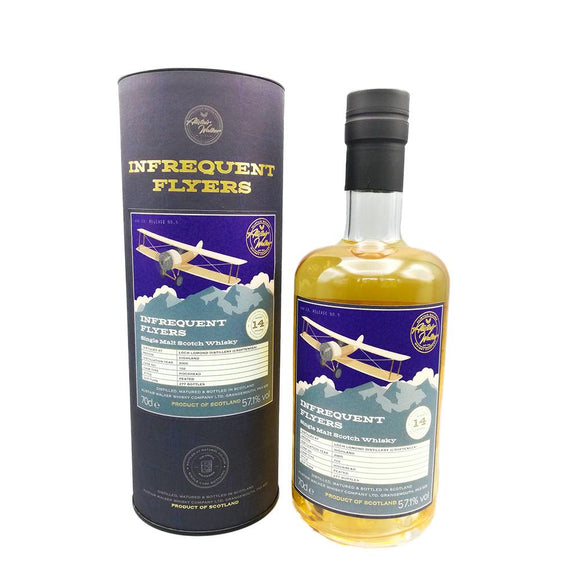Croftengea (Loch Lomond) 14yo Infrequent Flyers 70cl 57.1%