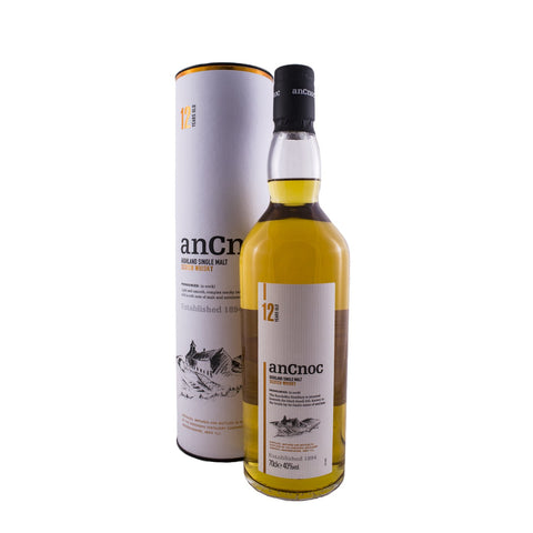 ANCNOC 12 YEARS OLD 70CL 40% - Aberdeen Whisky Shop
