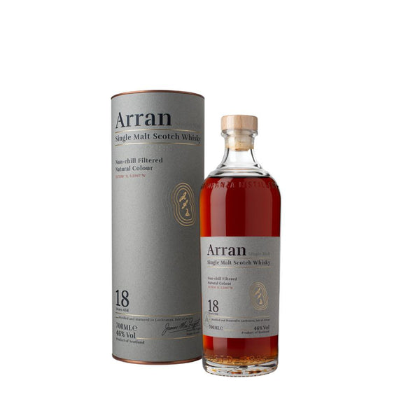 ARRAN 18 YEARS OLD 70CL 46%