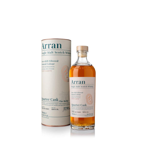 ARRAN QUARTER CASK 70CL 56.2% - Aberdeen Whisky Shop