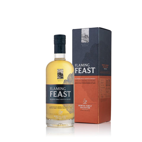 FLAMING FEAST 70CL 46% - Aberdeen Whisky Shop