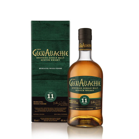 GLENALLACHIE 11YO MOSCATEL WOOD FINISH 70CL 48% - Aberdeen Whisky Shop