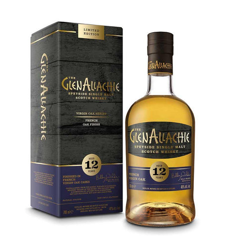 Glenallachie 12 Years Old French Virgin Oak Finish 70Cl 48%