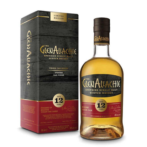 Glenallachie 12 Years Old Spanish Virgin Oak Finish 70Cl 48%