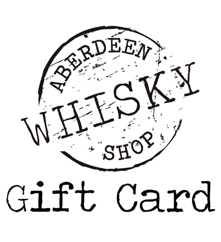GIFT CARD - Aberdeen Whisky Shop