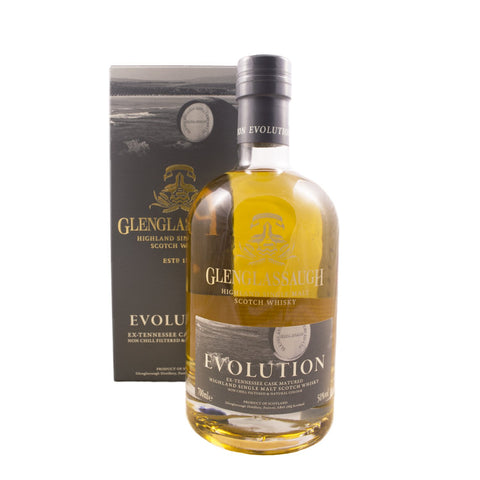 GLENGLASSAUGH EVOLUTION 70CL 50% - Aberdeen Whisky Shop